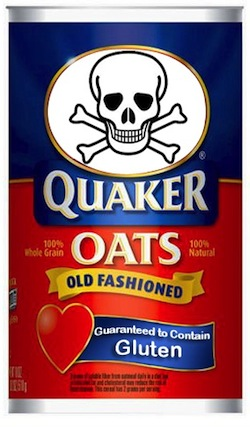 are quaker oats old fashioned oats gluten free